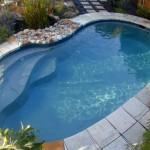 small inground kidney shaped swimming pools