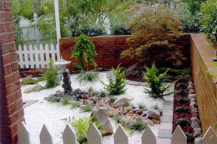 Small japanese garden design ideas for front yard for Japanese garden backyard designs