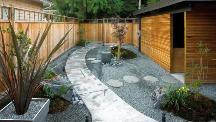 small japanese garden design ideas for side and back yard