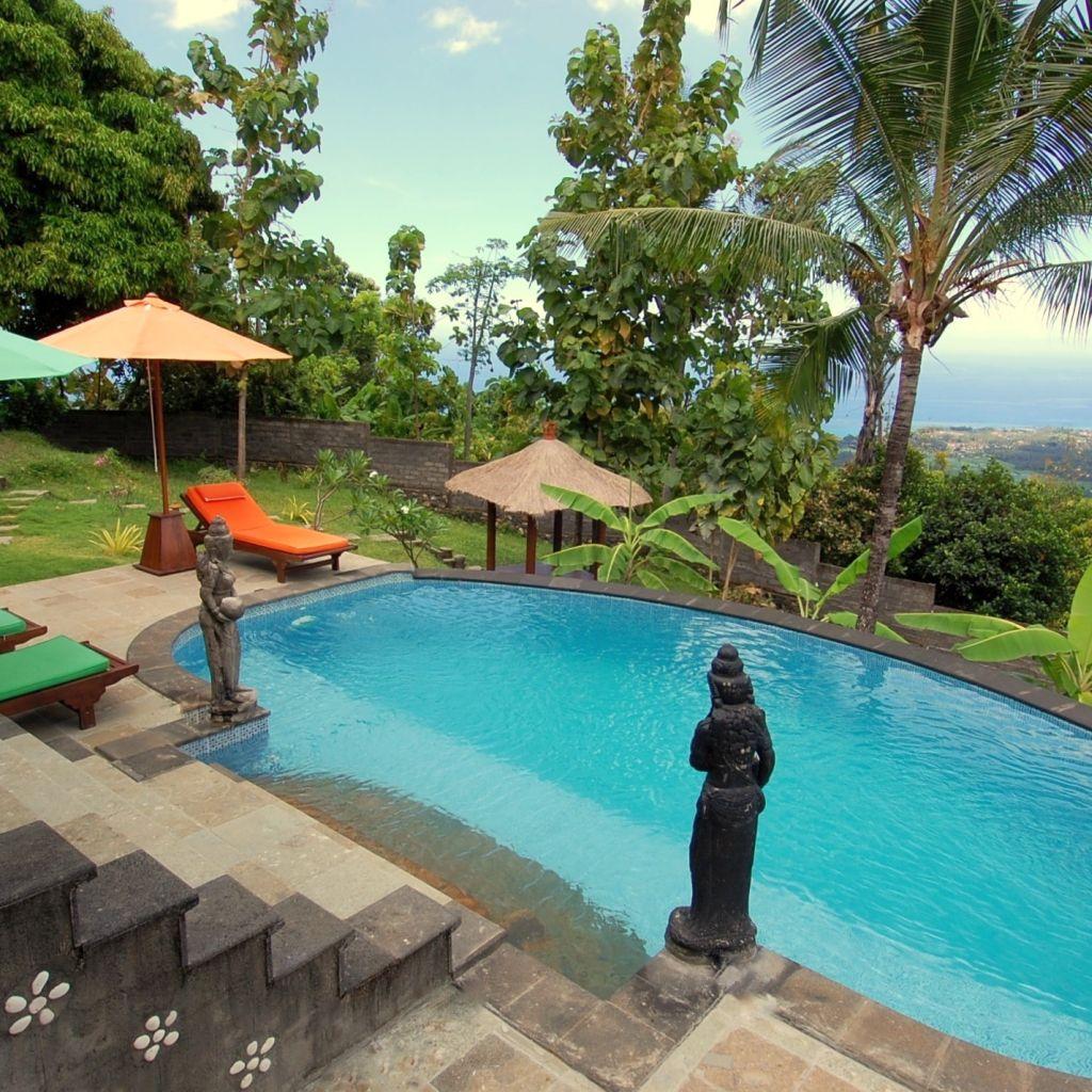 Backyard pools on a hill backyard pool on a hill for Bauhaus pool aktion