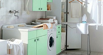 small laundry room designs for the basement