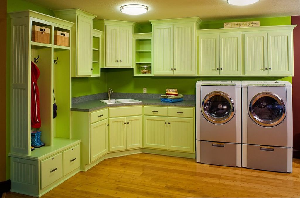 20 beautiful designs for small laundry rooms - Small laundry room ideas ...