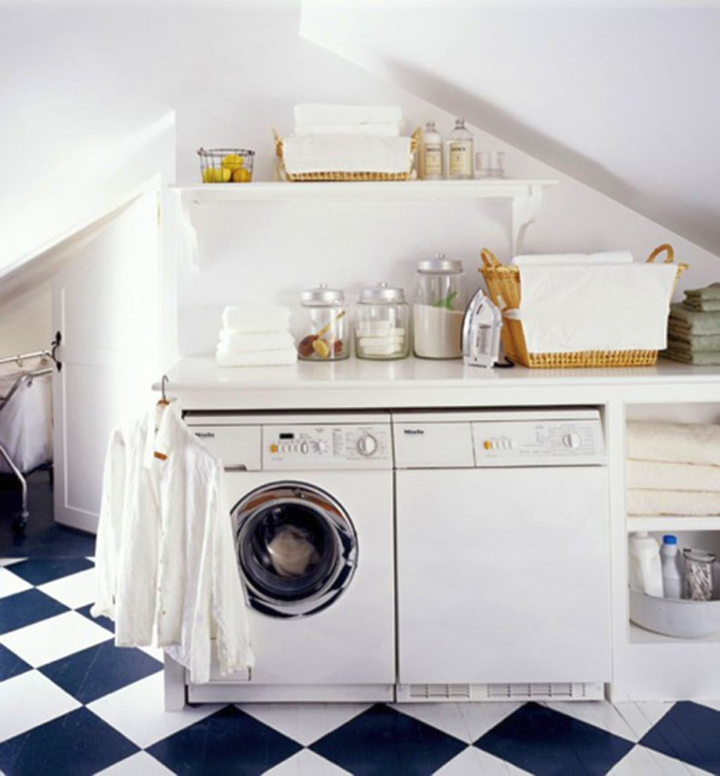 20 briliant small laundry room storage solutions - Utility room storage ...