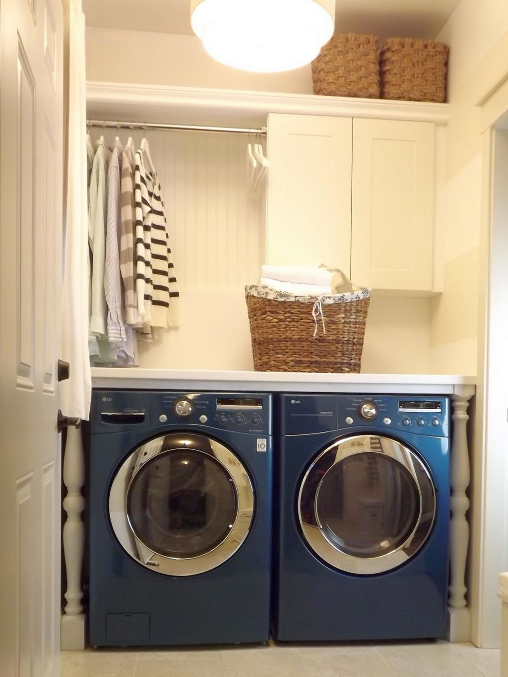 Small Laundry Room Storage Solutions