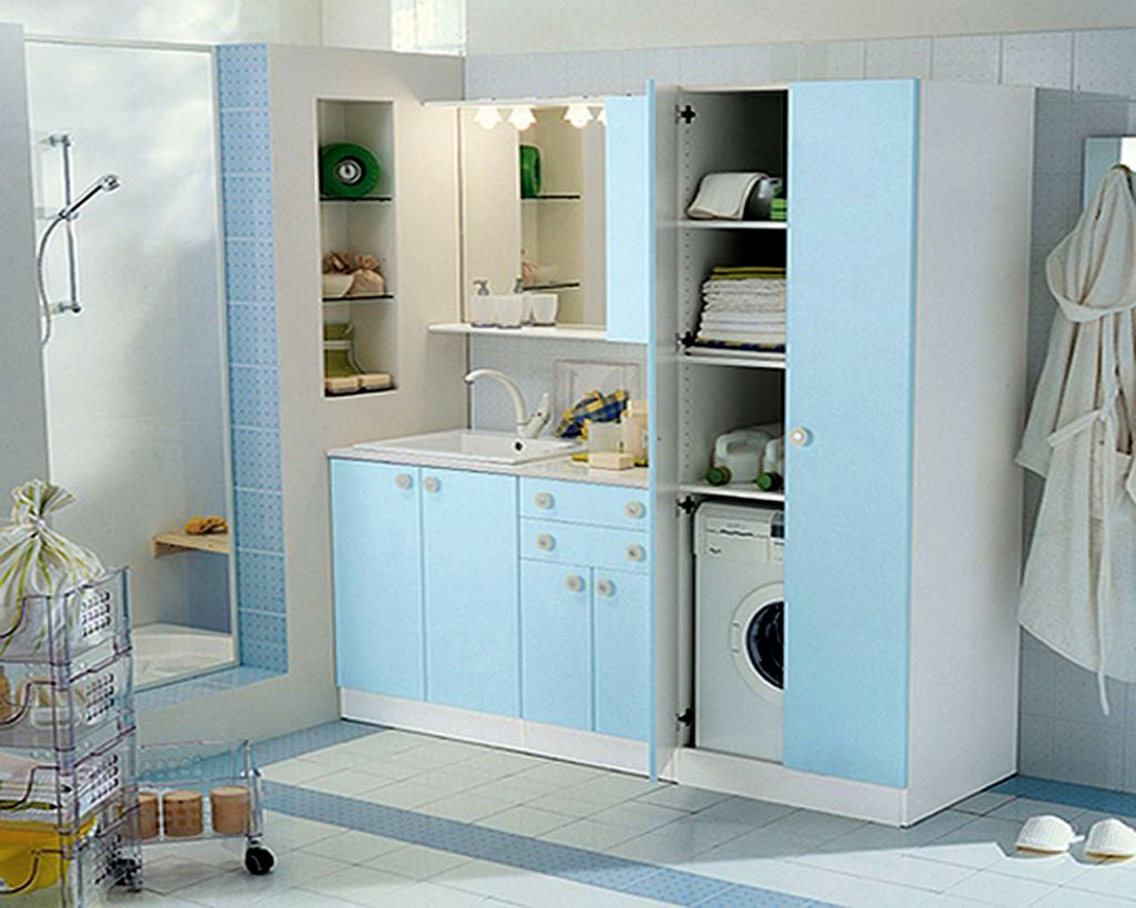 20 briliant small laundry room storage solutions
