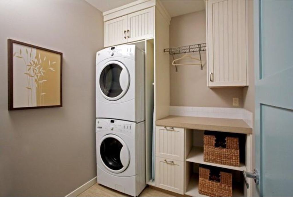 20 briliant small laundry room storage solutions - Storage solution for small bedroom ...