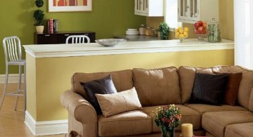 small living room ideas in earth tones