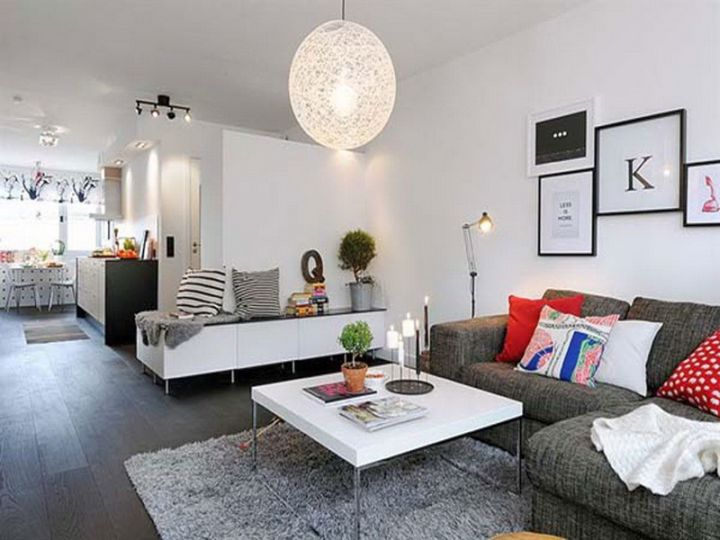 small living room ideas in grey