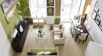 small living room ideas tall ceilings