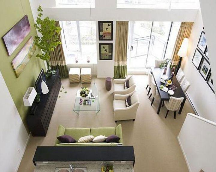 small living room ideas tall ceilings