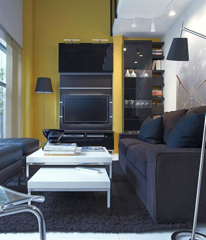 18 small living room ideas for urban living for Ikea room ideas 2015