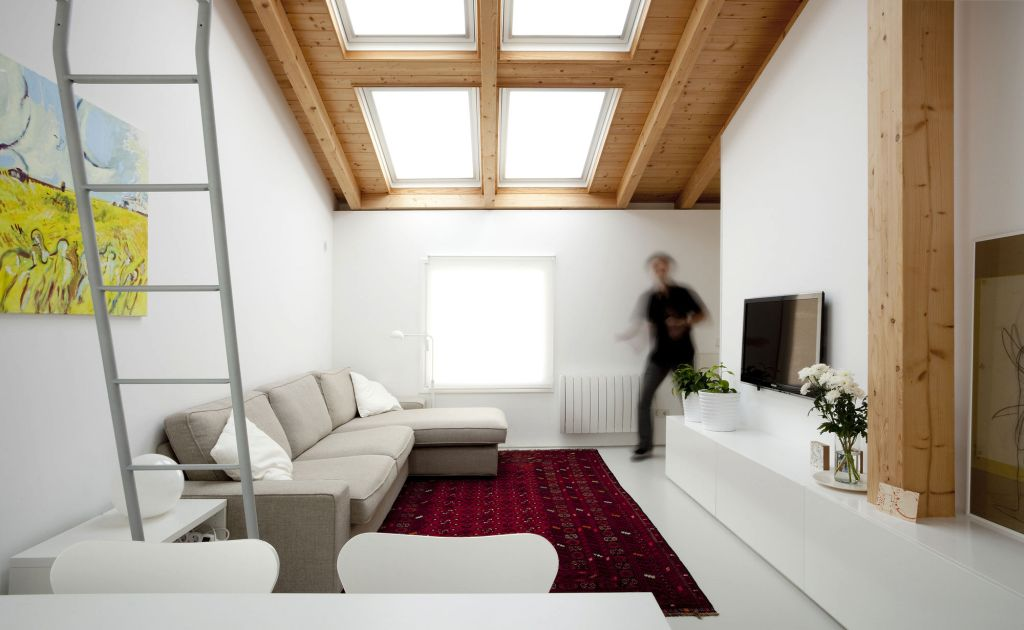 So, What Do You Think About Small Living Room With Skylight Ideas Above?  Itu0027s Amazing, Right? Just So You Know, That Photo Is Only One Of 20 Living  Room ...