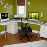 small office plans in green