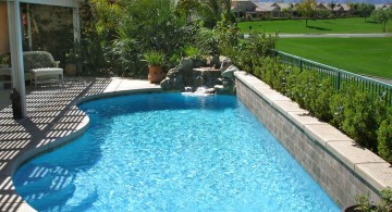 small pool for limited space