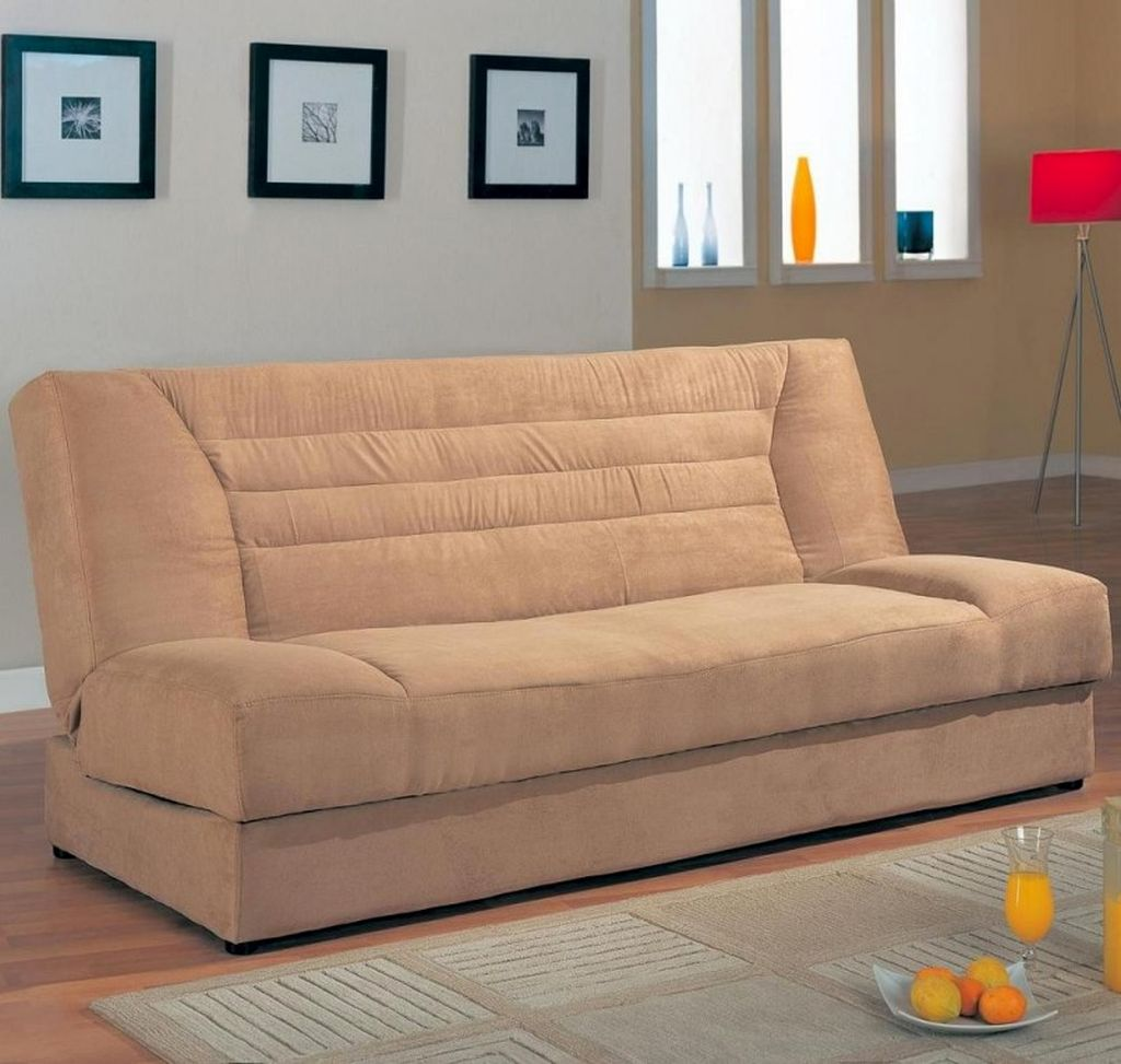 Small sofa beds for small rooms in beige for Sofas for small rooms