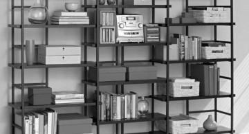 smart cubicles vintage industrial bookcase designs