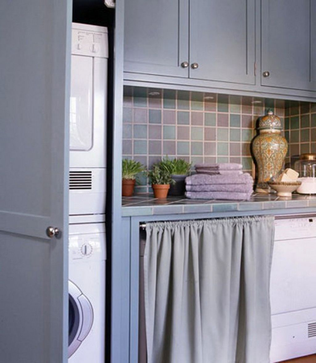 60 Beautiful Small Laundry Room Designs: 20 Beautiful Designs For Small Laundry Rooms