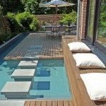 smart tiny swimming pools idea with seating area