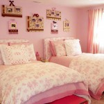 soft pink nice rooms for girls with twin beds