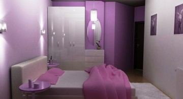 soft violet relaxing paint colors for bedrooms
