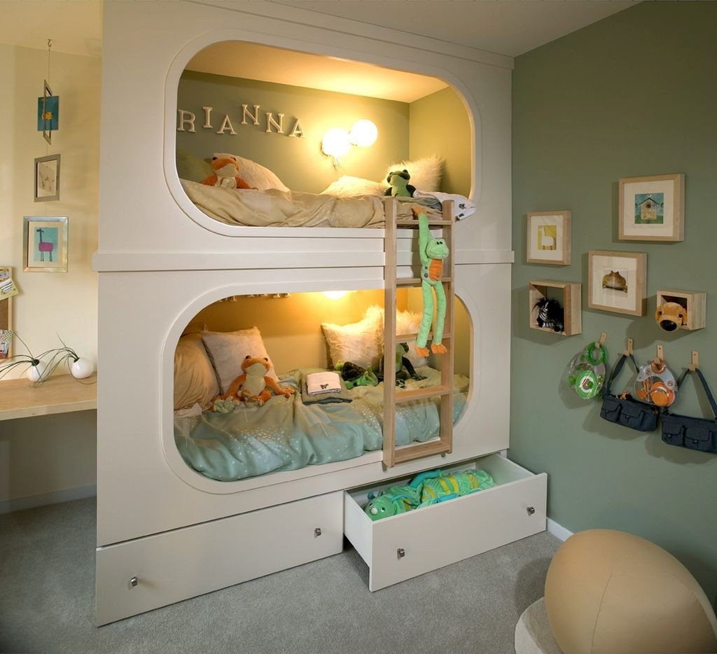 20 Cool Bunk Bed Designs Your Kids Will Love