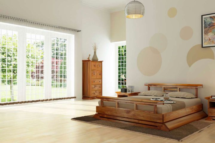 spacious zen bedroom ideas