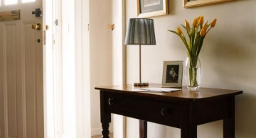 square small entry table ideas in small space
