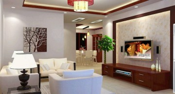 squares with oriental lamp shade drop ceiling decorating ideas