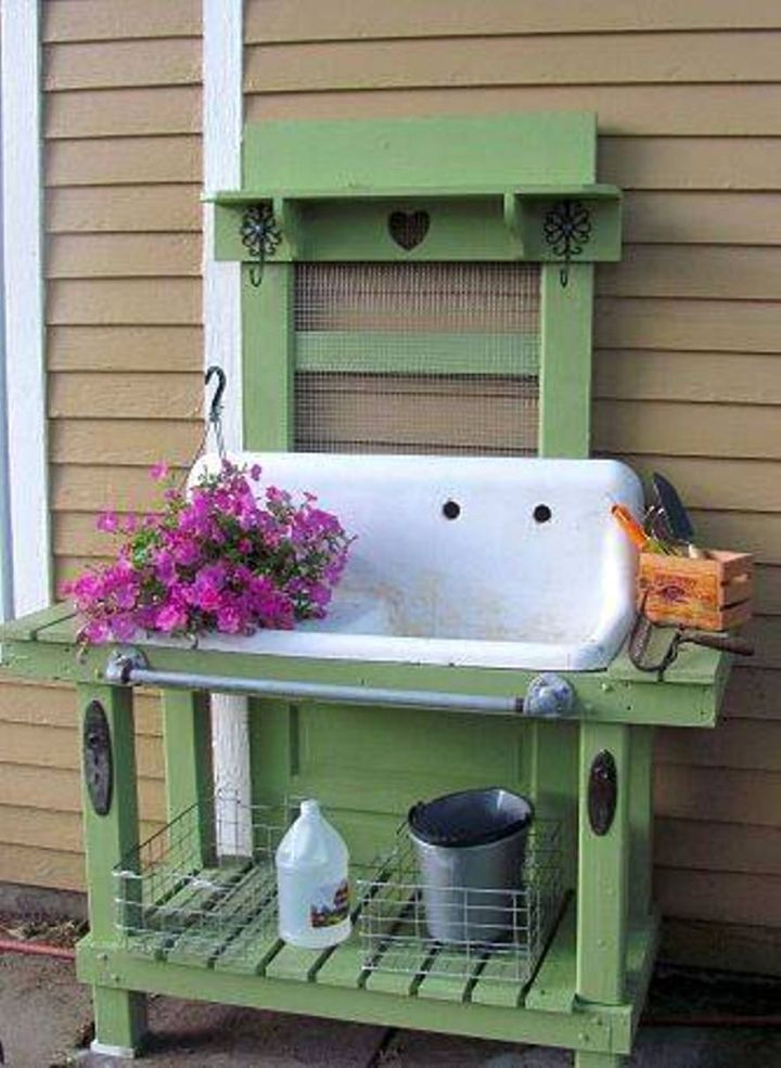 Stand Alone Laundry Sink : stand alone kitchen sink for outdoor