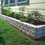 stones for flower beds idea for side yard