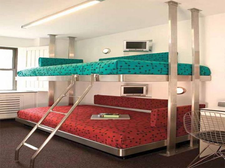 stylish bunk beds
