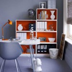 stylish home office for limited space