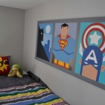 superheroes pictures cool painting ideas for bedrooms