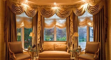 swag valance patterns for classy looking sitting rooms