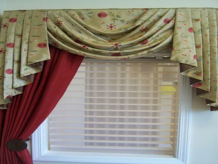 20 Beautiful Swag Valance Patterns To Sweeten Your Interior