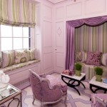 teenage girl curtain designs in purple shades