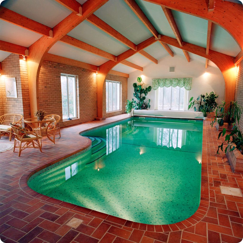 20 niftiest indoor swimming pool designs for Indoor swimming pool ideas