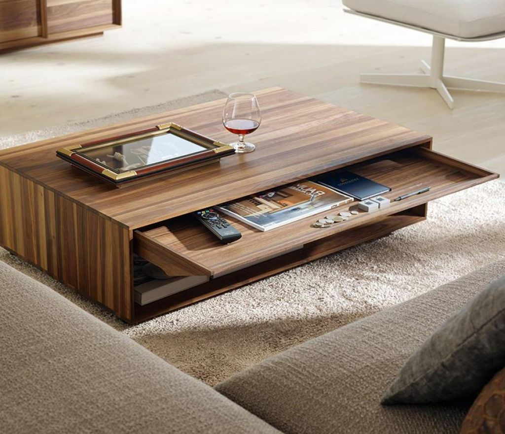 So, What Do You Think About Textured With Slim Drawer Wood Coffee Table  Designs Above? Itu0027s Amazing, Right? Just So You Know, That Photo Is Only  One Of 20 ...