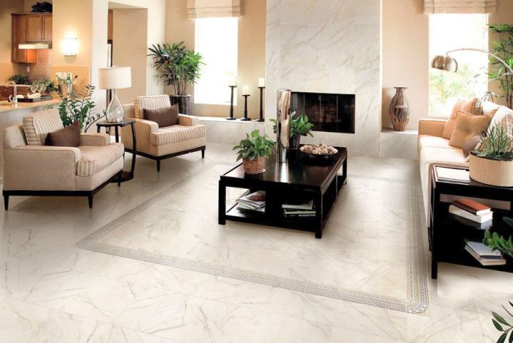 Living Room Tile Floor View in gallery living room flooring tile