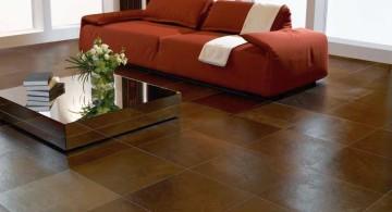 tile flooring ideas for living room rustic polished wooden floor