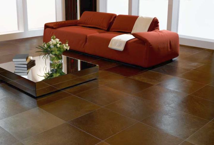 rustic living room tile floor designs | 19 Tile Flooring Ideas for Living Room to Look Gorgeous