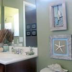 tiny bathroom design ideas in beach theme