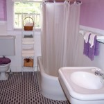 tiny bathroom design ideas with plush toilet cover
