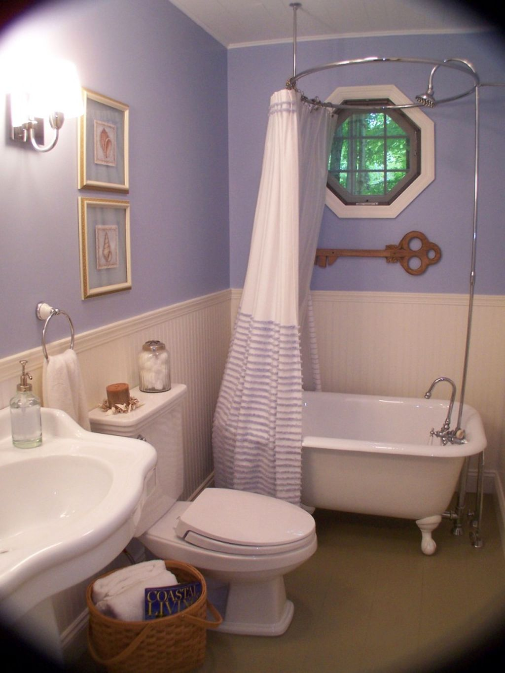19 bright and inviting tiny bathroom design ideas - Pictures of small bathrooms ...