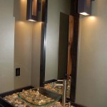 tiny bathroom design ideas with unique sink cabinet