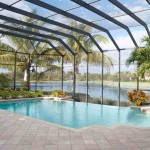 tiny swimming pools with glass wall and ceiling