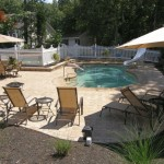 tiny swimming pools with patio