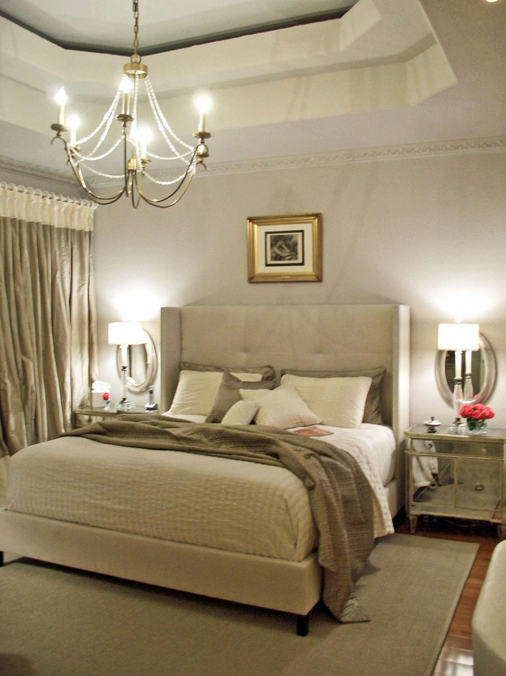 Ideas To Spice Up The Bedroom 20 Elegant Modern Tray Ceiling Bedroom Designs