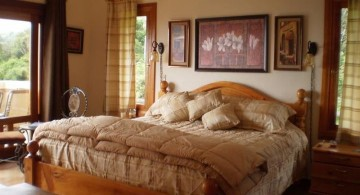 tuscan style bedroom furniture for low ceilinged houses