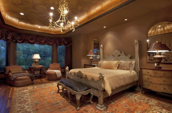 ... Tuscan Style Bedroom Furniture In Cream And Beige Rooms